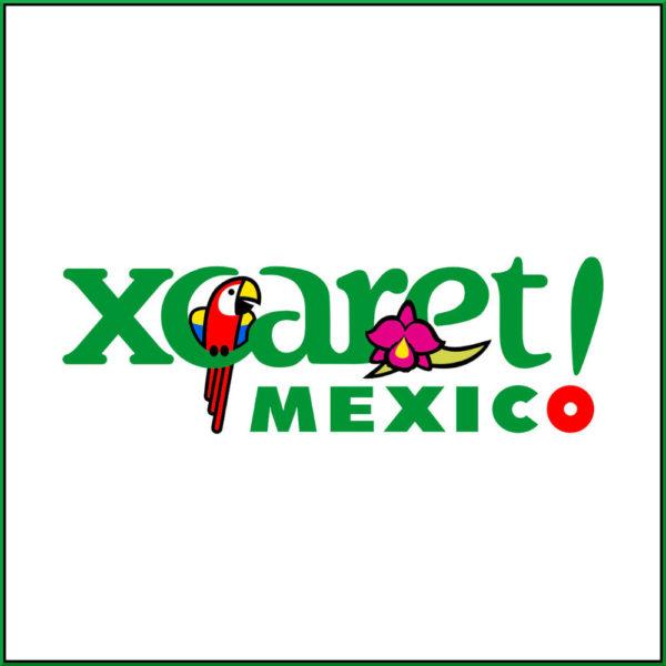 logomarca do Parque XCARET em Cancun