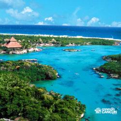 xel-ha-parque-cancun-visao-aerea-praia