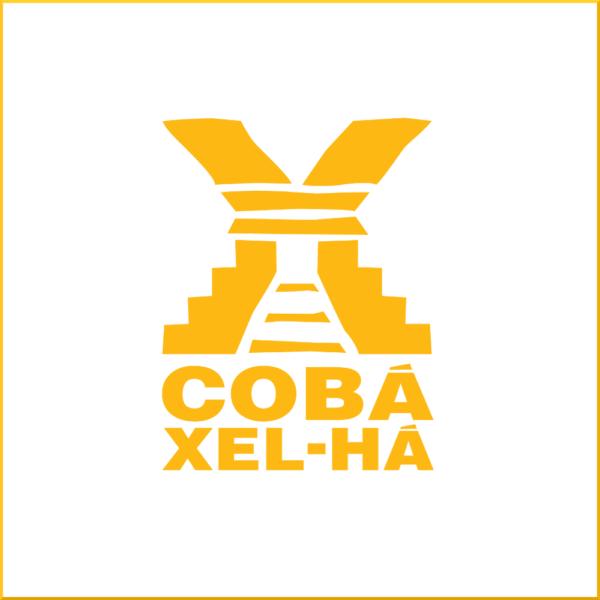 logomarca Tour Xel-Ha mais Coba em Cancun