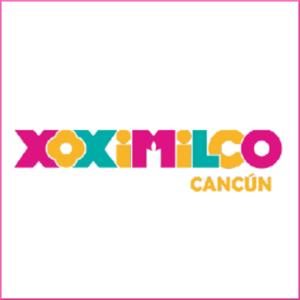logomarca parque xoximilco em cancun