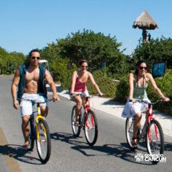 clube-de-praia-park-garrafon-dolphin-discovery-isla-mujeres-cancun-passeio-de-bike
