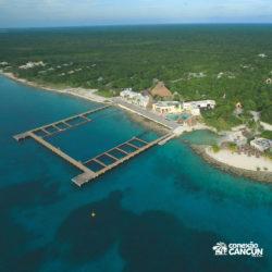encontro-com-peixe-boi-dolphin-discovery-cozumel-cancun-isla-mujeres-visao-area-dolphinario