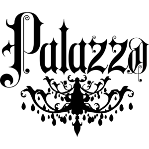 Logomarca da boate Palazzo-Cancun