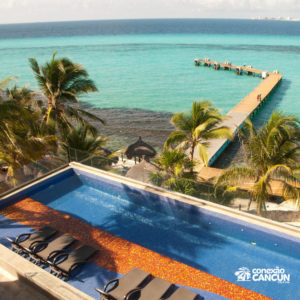 Uma das piscinas do programa Royal Garrafon com Royal Swim Vip