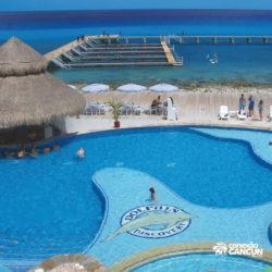 sea-lion-discovery-cozumel-cancun-piscina-visao-aerea