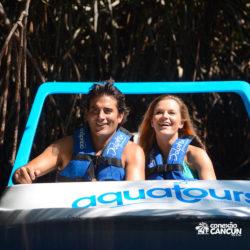 aventura-jungle-tour-aquatours-cancun-casal-no-barco