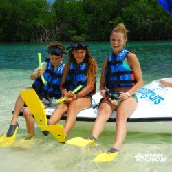 aventura-jungle-tour-aquatours-cancun-preparando-para-o-snorkeling