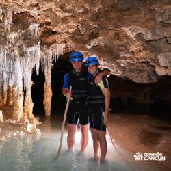 aventura-rio-secreto-cancun-casal-2