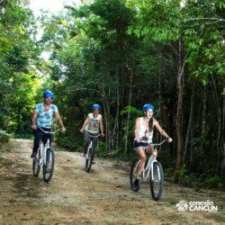aventura-rio-secreto-cancun-passeio-bicicleta