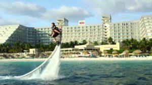 Turismo em Cancun: Hoverboard.